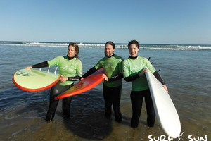 surf lessons in Victor Harbor bay