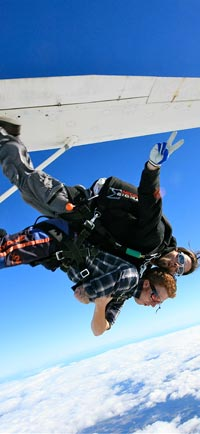 Skydiving from Adelaide, South Australia, the ultimate adventure on the Fleurieu Adventure photo