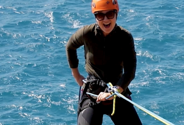Abseiling Victor Harbor, Off the Bluff photo